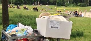 Dreck nicht im Griff - So sieht die Müllhauptstadt Berlin aus