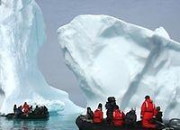 Die Reportage: Ein Eisberg in Südafrika