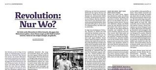 Revolution: Nur Wo?