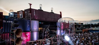 """Container Love"": Festivalstadt am Nürnberger Hafen"