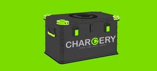 Start-up Chargery: Der Fahrradanhänger wird zur mobilen Ladestation
