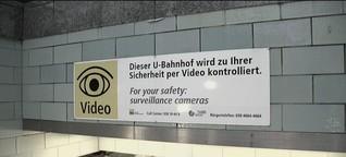 Mehr Sicherheit durch Videoüberwachung?