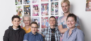 Magazine für Lesben: Für sie. Und sie. Und Sie.