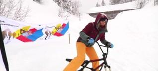 ISPO on Snow: münchen.tv testet Wintersport-Trends 2018