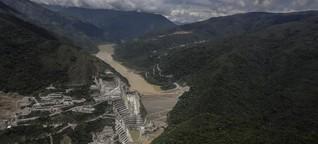 Kolumbien: Wasserkraftwerk droht Dammbruch | DW | 22.05.2018