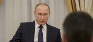 Putins Russland ist so stark, weil der Westen so schwach ist