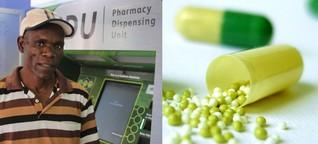 Aids-Medikamente aus dem Automaten