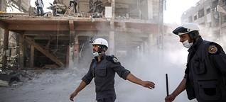 Die Rettung der Retter: Weißhelme aus dem Südwesten Syriens gebracht