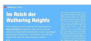 Im Reich der Wuthering Heights