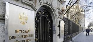 So funktioniert die Sanktion: Wie schmeißt man Diplomaten aus dem Land?