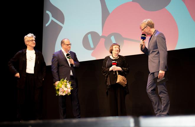 Moderation mit Wim Wenders & Sheila Jordan (Filmfest München 07/18)