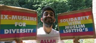 """Morddrohungen und Polizeischutz wegen """"Allah is gay""""-Shirt"""