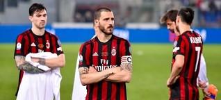 AC Mailand: Verkauft, verraten, fast zugrunde gewirtschaftet