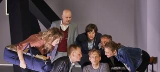 Woyzeck - Regisseur Martin Kindervater jagt am Mainfrankentheater Würzburg Georgs Büchners großen Paranoiker über die Bühne
