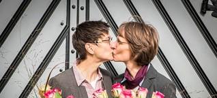 Ehe für alle: 1. Lesbisches Paar heiratet in Osnabrück.