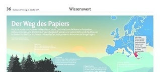 Der Weg des Papiers