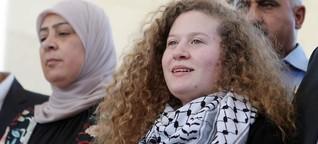 17-jährige Palästinenserin aus Haft entlassen