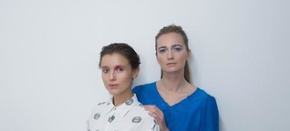 """Portrait der beiden Berliner Bloggerinnen von """"Found on the Street"""""""