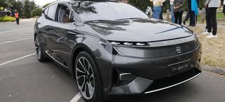 Erste Testfahrt im Elektro-SUV M-Byte von Byton