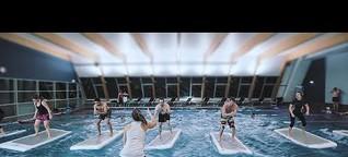 FloatFit Wien: HIIT-Training auf schwimmenden Boards