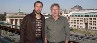 Ryan Gosling und Harrison Ford in Berlin