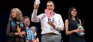 Verleihung der Satire-Nobelpreise: Wenn der Chef schreit, zerstören Sie einfach eine Voodoo-Puppe