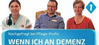 Pflege-Profis zum Thema Demenz / BR BAYERN 1