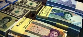 """Iran will Bargeld ausfliegen: """"Wie Wasserflaschen, nur besser versichert"""""""