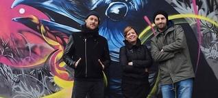 Nurban Art ohne Urban Art - Graffiti-Flächen verzweifelt gesucht