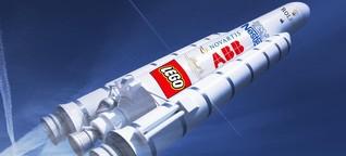 Bald kommt Werbung auf Amazon-Paketen und Nasa-Raketen