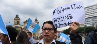 Guatemala am Rande der Staatskrise