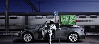 Zum GA der SBB gibt es jetzt einen Tesla dazu
