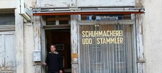 Udo Stammler ist seit 30 Jahren Schuhmacher in Lörrach