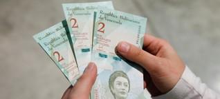 Venezuelas neue Geldscheine kommen aus Deutschland