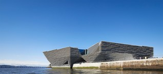 Schottland – Das neue V&A Dundee Designmuseum von Kengo Kuma