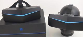 VR-Brillen Pimax 5K+ und Pimax 8K im Test - Die 2. VR-Generation ist da
