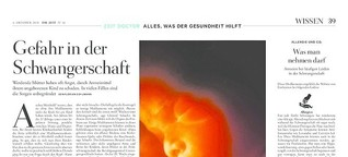 Die ZEIT: Gefahr in der Schwangerschaft