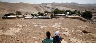 25 Jahre Osloer Friedensabkommen: Zonen-Grenzen in Palästina