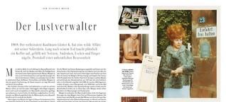 SZ Magazin Der Lustverwalter