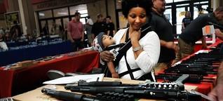 """Waffengewalt in Amerika: """"Schießereien gehören zum Alltag"""""""