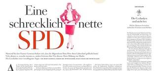 Eine schrecklich nette SPD