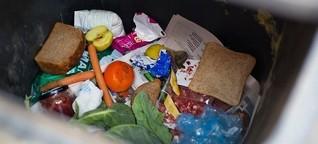 Deutschlandfunk-Zu viel Essen landet im Müll