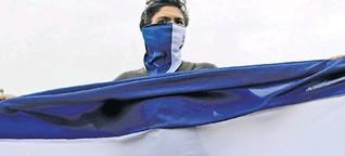 Nicaraguas Studierende protestieren gegen den Präsidenten