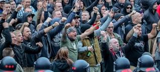 Wo Rechte marschieren, da werden Journalisten angegriffen