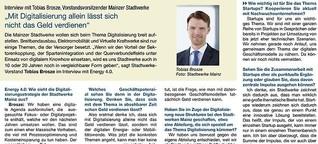 """""""Mit Digitalisierung allein lässt sich nicht das Geld verdienen"""""""