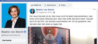 """""""Ich war schockiert und wütend"""": Wenn Beatrix von Storch mit deinem Kunstwerk posiert"""