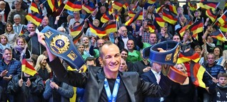 Frank Stäbler aus Musberg: Die Stadt feiert ihren Ringer-Weltmeister