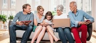 Streaming, Apps, Telefon: Geld sparen mit Familienkonten