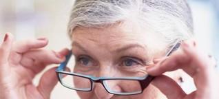 So findet man im Alter die richtige Brille