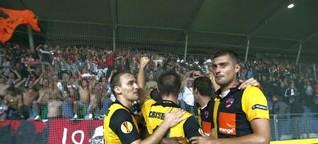 2015 - Six mois de football en Roumanie